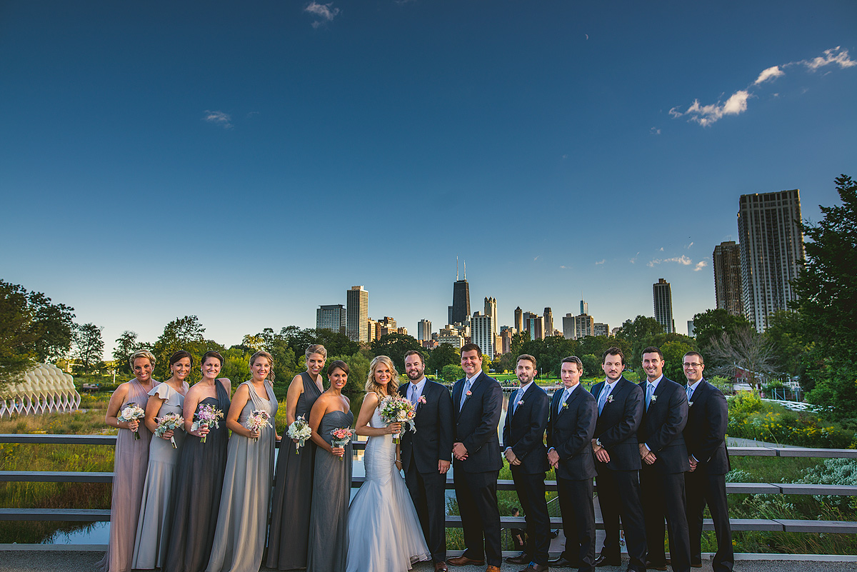 Chicago-Bridal-Party-Lincoln-Park