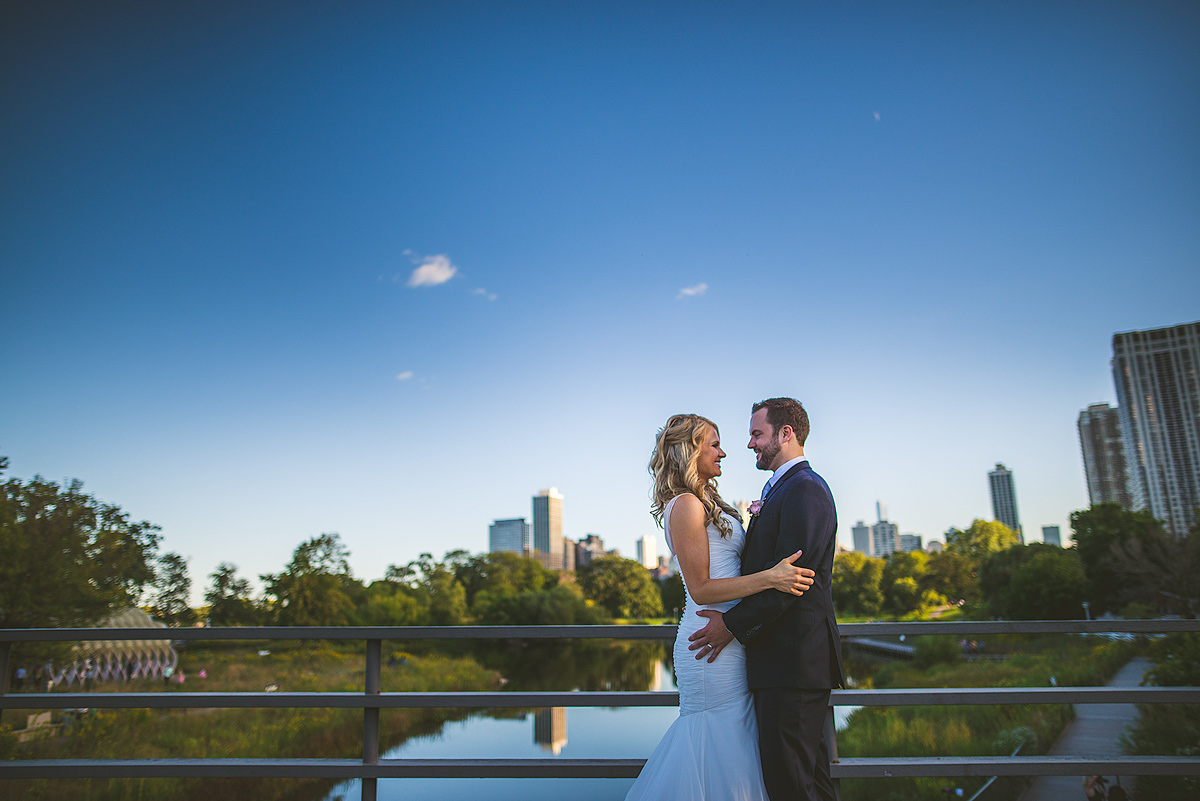 Lincoln-Park-South-Pond-Wedding-Photo