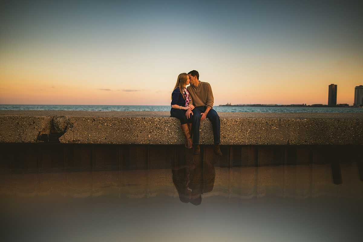Chicago-Sunset-Engagement-Creative
