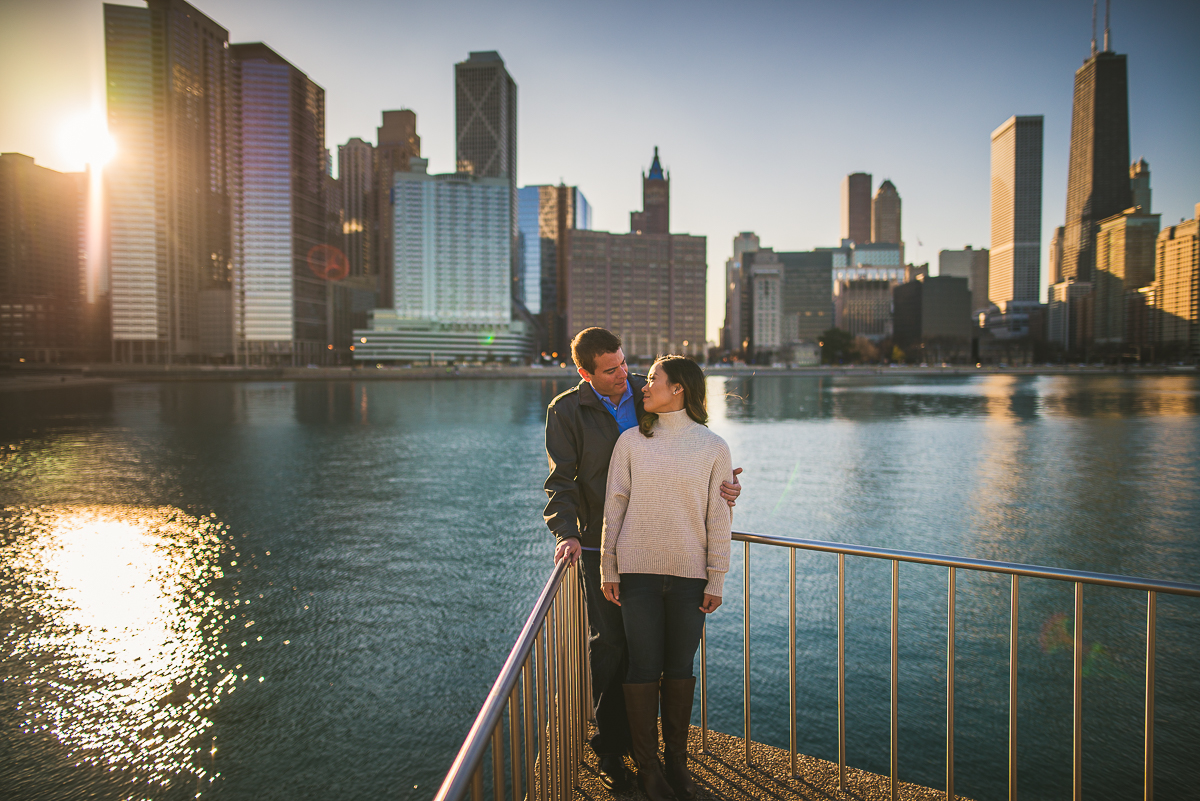 Stunning Chicago Engagement Photographs-1-2