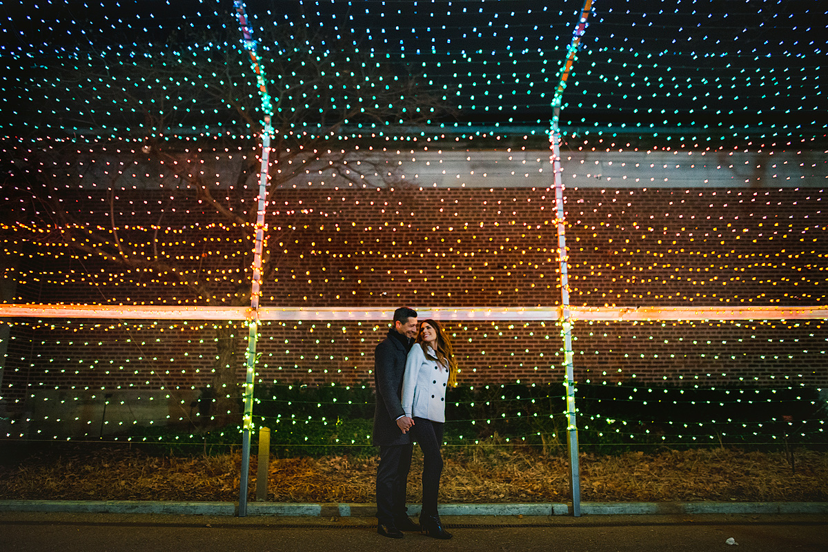 Wall-of-Lights-Engagement-Photo
