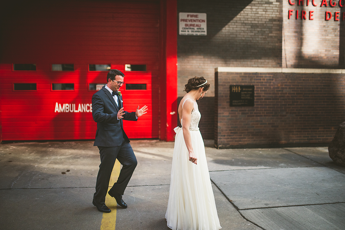Happy-Groom-First-Look-Wedding-Photo