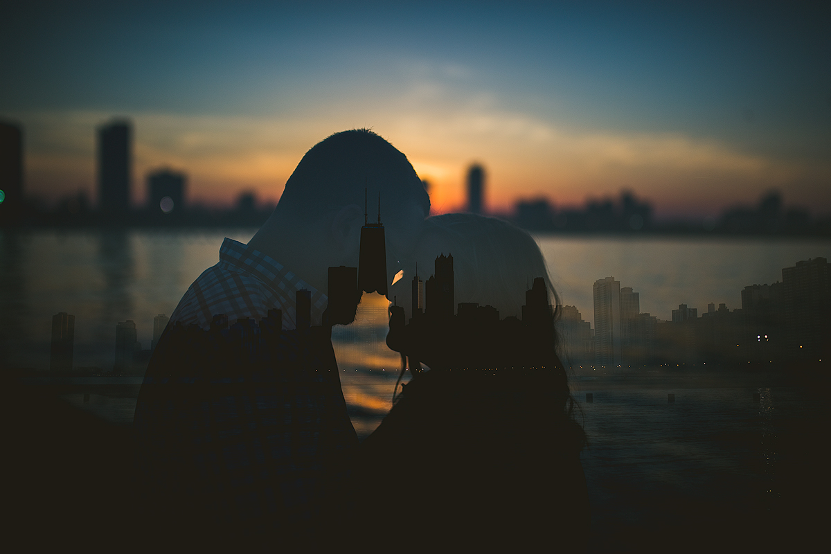 Chicago-Skyline-Double-Exposure-Engagement