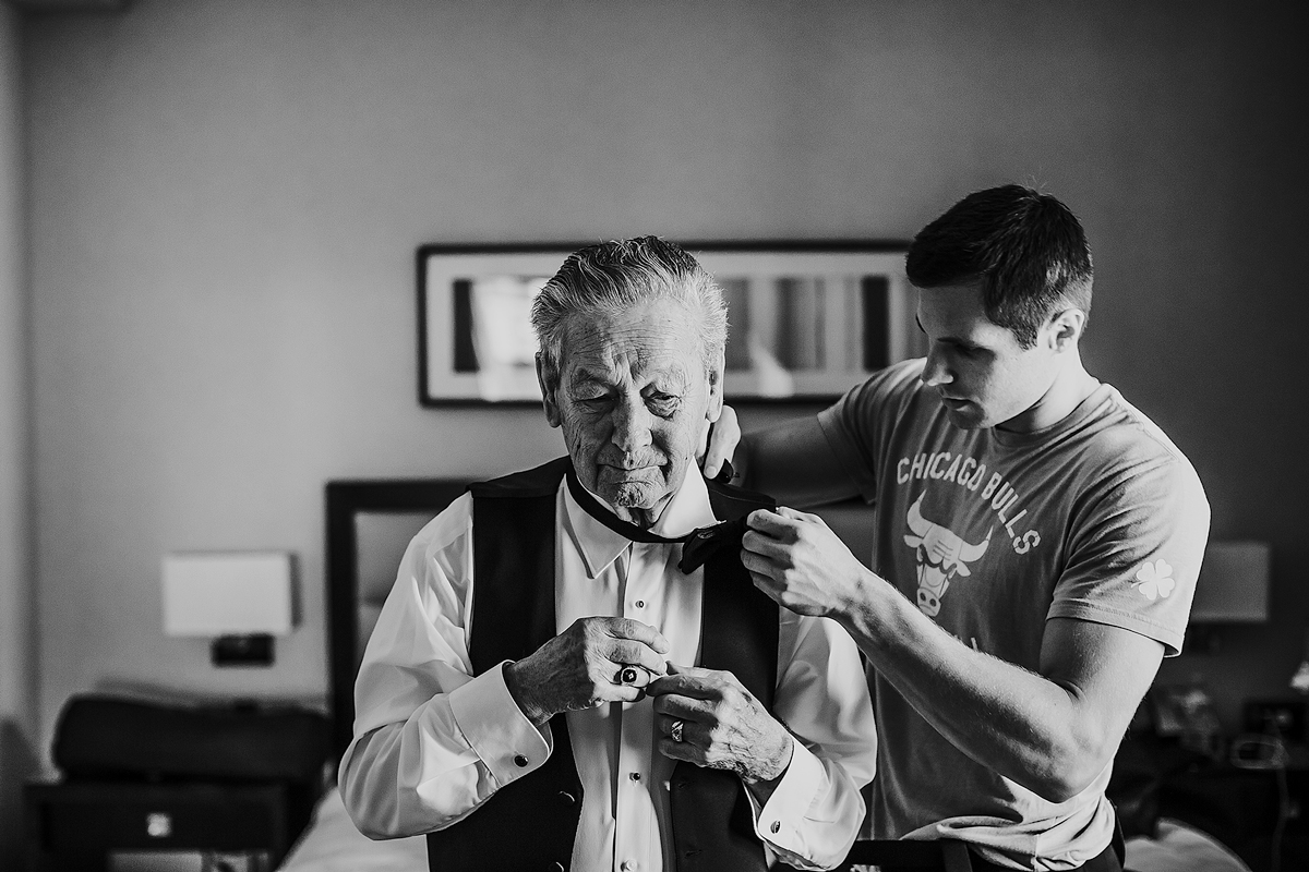 Groom-Grandfather-getting-ready