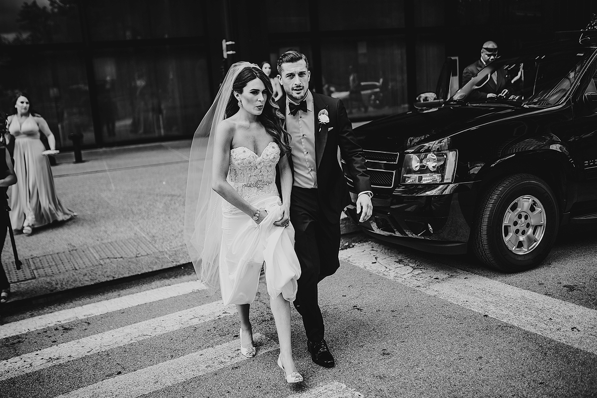 Bride-Groom-Walking-Across-Street