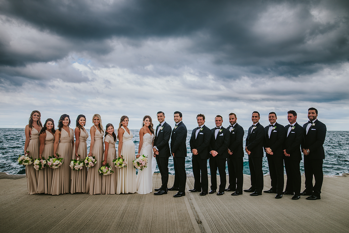 Chicago-Lakefront-Bridal-Party