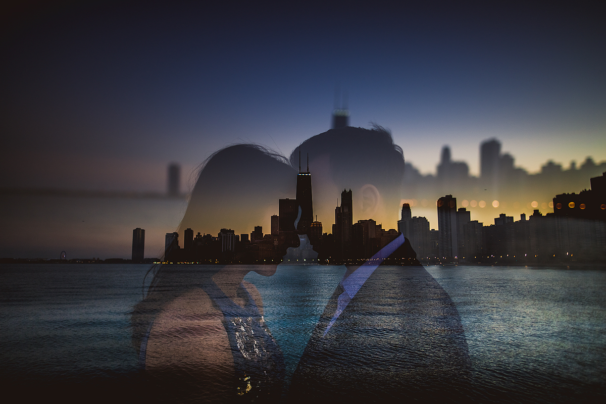 chicago-skyline-engagement-double-exposure