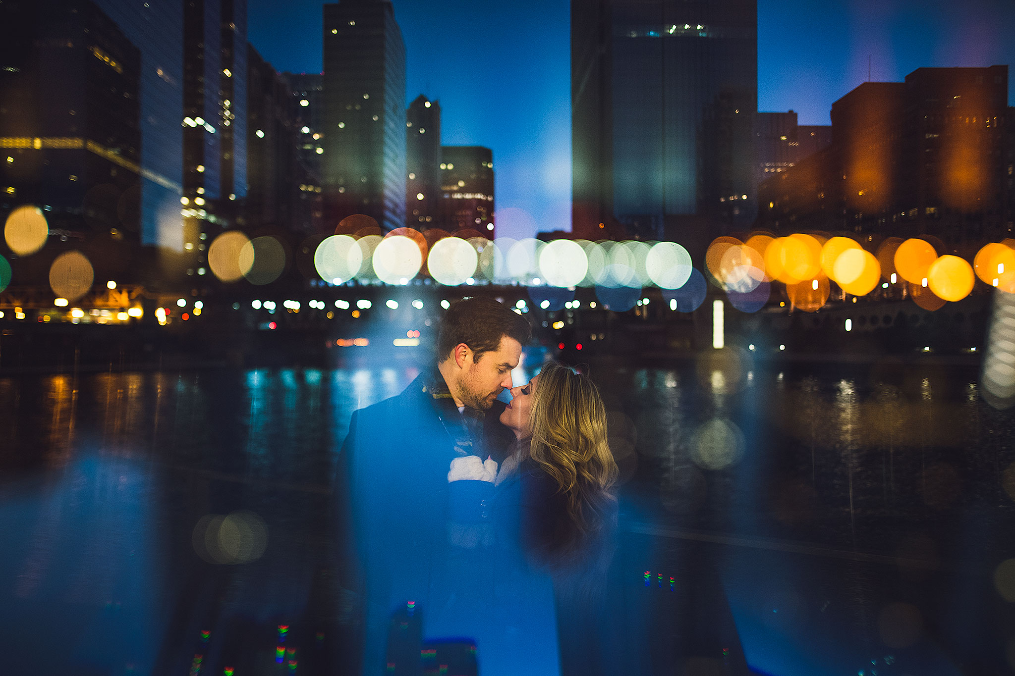 chicago-prism-double-exposure-engagement