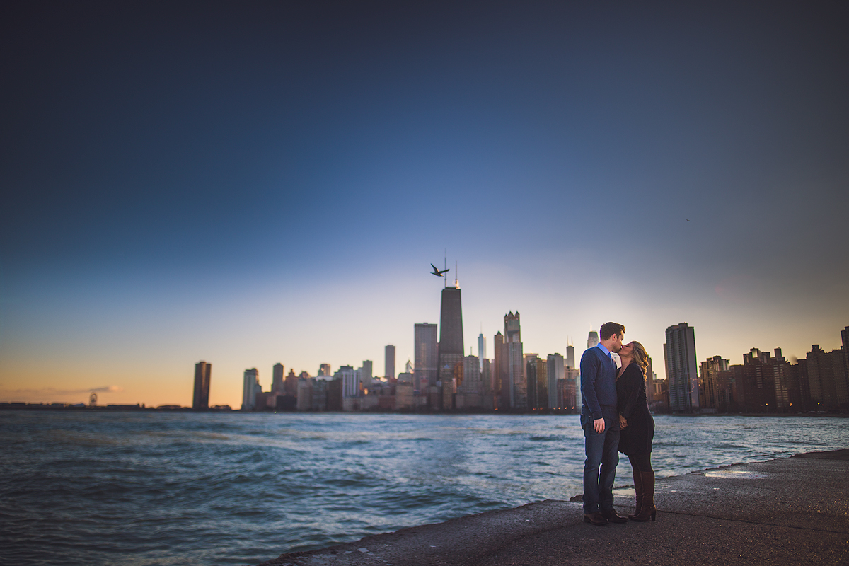 stunning-chicago-engagement